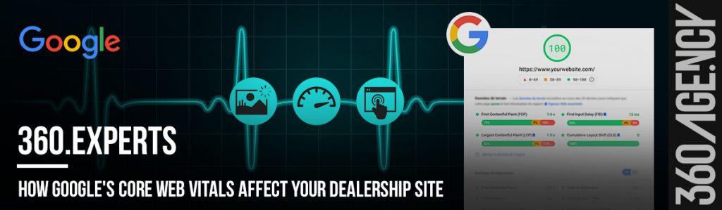 How Google's Core Web Vitals affect your dealership's website