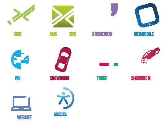 XMS Pro Suite logos